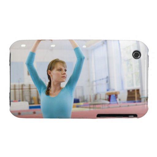 Presentación joven del gimnasta Case-Mate iPhone 3 protectores