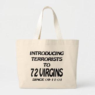 Presentar a terroristas a 72 vírgenes bolsas