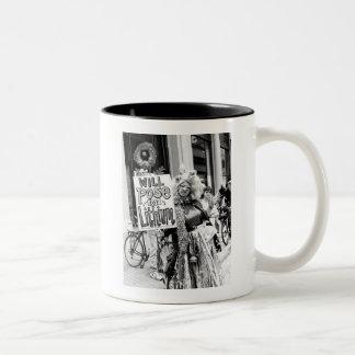 Presentará para el litio tazas de café