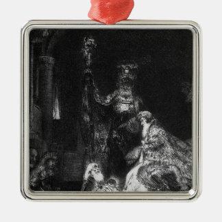Presentation in the Temple, 1654 Metal Ornament