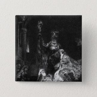 Presentation in the Temple, 1654 Pinback Button