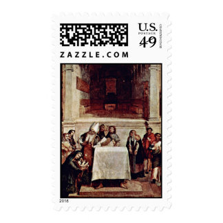 Presentation In The Temple By Lotto Lorenzo (Best Postage Stamps