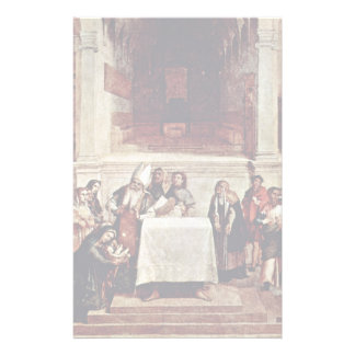 Presentation In The Temple By Lotto Lorenzo (Best Stationery