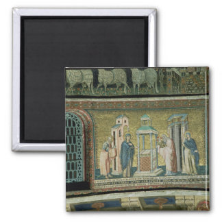 Presentation in the Temple, detail from the Story 2 Inch Square Magnet
