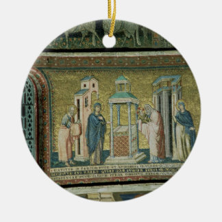 Presentation in the Temple, detail from the Story Ceramic Ornament