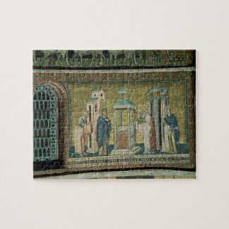 Presentation in the Temple, detail from the Story Jigsaw Puzzle