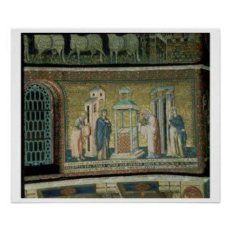 Presentation in the Temple, detail from the Story Poster