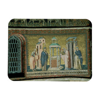 Presentation in the Temple, detail from the Story Rectangular Photo Magnet
