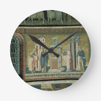 Presentation in the Temple, detail from the Story Round Clock