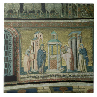Presentation in the Temple, detail from the Story Tile
