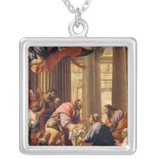 Presentation in the Temple Silver Plated Necklace