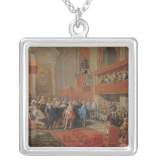 Presentation of Order of Holy Spirit to Prince Silver Plated Necklace