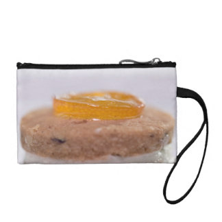 Presentation of Pastry with jelly Coin Purse