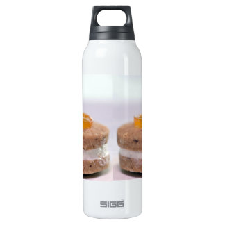 Presentation of Pastry with jelly 16 Oz Insulated SIGG Thermos Water Bottle