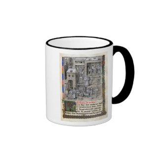 Presentation of the book to Philippe Le Bon Coffee Mugs