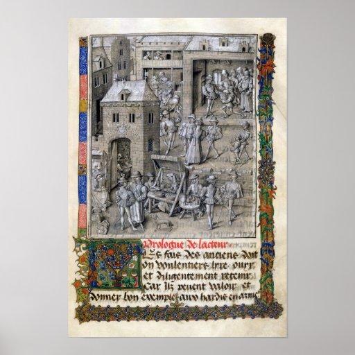Presentation of the book to Philippe Le Bon Print