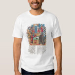 Presentation of the Memoirs to Louis XI Tee Shirt
