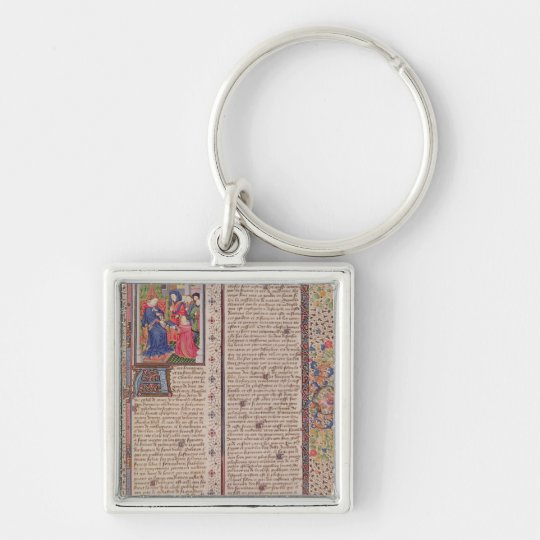Presentation of 'The Politics' to the King Keychain