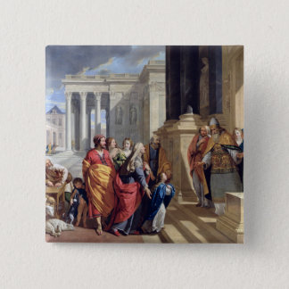 Presentation of the Virgin in the Temple Button