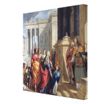 Presentation of the Virgin in the Temple Canvas Print