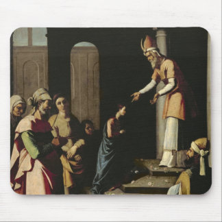 Presentation of the Virgin in the Temple Mouse Pad