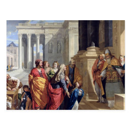 Presentation of the Virgin in the Temple Postcard