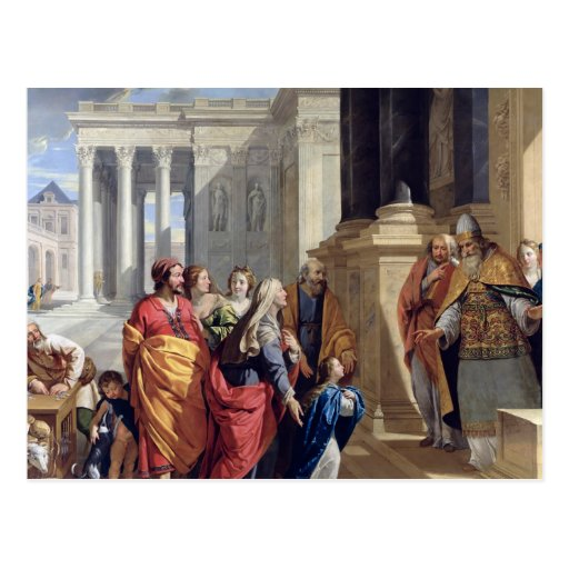 Presentation of the Virgin in the Temple Post Cards