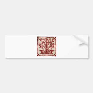 Presentation quilt from Oahu, c. 1855-1887 Bumper Sticker
