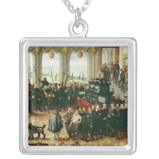 Presentation to Duke Phillip II Silver Plated Necklace