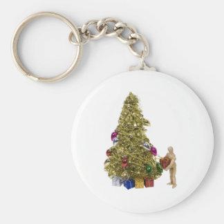 PresentChristmasTree120409 copy Keychain