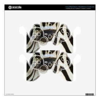 Presente blanco y negro del regalo del safari del  mando PS3 calcomanías