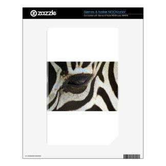 Presente blanco y negro del regalo del safari del  calcomanía para el NOOK color