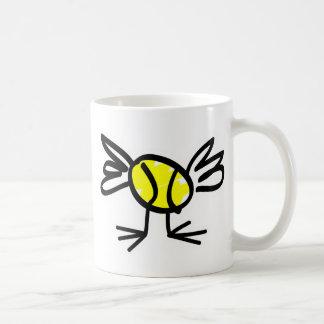 presente de la taza del polluelo del tenis