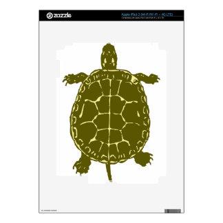 Presente del regalo del océano del mar de Shell de iPad 3 Pegatinas Skins