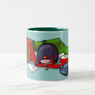 Presente-Embalaje de la taza del pingüino