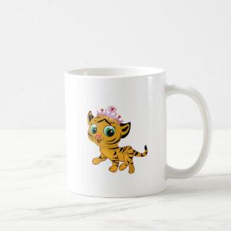 Presente lindo de princesa Tiger Tigress Tiara Taza