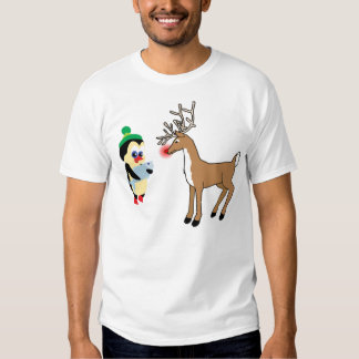 presente para la camiseta de Rudolph Camisas