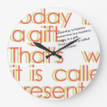 - Presente - Reloj