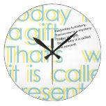 * presente * relojes de pared