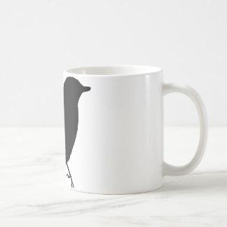 Presente único del regalo de la silueta negra del  tazas de café