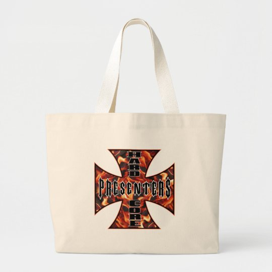 Presenter Hard Core Large Tote Bag