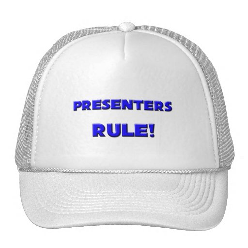 Presenters Rule! Trucker Hat
