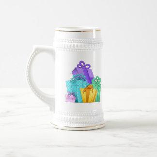 Presentes de cumpleaños Stein de cerámica Jarra De Cerveza