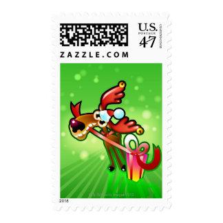 Presentes del reno sellos