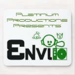 Presentes ENVI de las producciones del platino Alfombrillas De Ratones