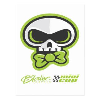 presenting the Blaine K Skully garb Postcard