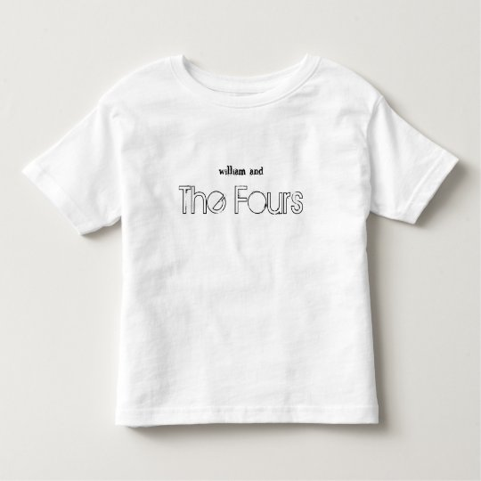 Presenting...The Fours! Toddler T-shirt