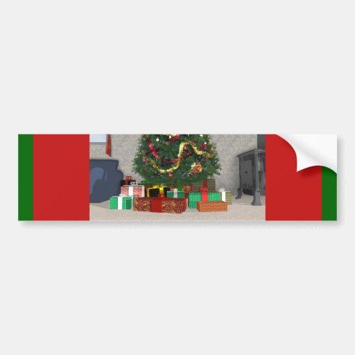 Presents Under the Christmas Tree: Bumper Sticker