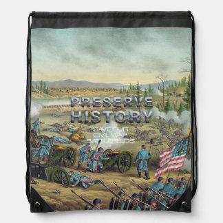 Preservación del campo de batalla de la guerra mochila