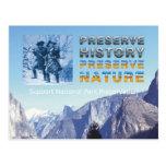 Preservación del parque nacional de ABH Tarjeta Postal